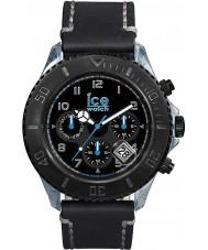 Ice-Watch VT.MF.BK.B.L.14 Mens Big Ice-Vintage Multifunction Black Leather Strap Watch