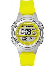 Timex TW5K96700 Ladies Marathon Mid Size Yellow Resin Chronograph Strap Watch