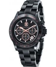 Klaus Kobec KK-10015-02 Racer Black Ceramic Chronograph Watch