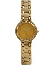Krug Baümen 5120KL Ladies Charleston Yellow Gold Watch