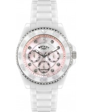 Rotary CEWBS-07-M Ceramique White Multifunction Watch