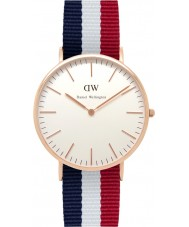 Daniel Wellington DW00100003 Mens Classic 40mm Cambridge Rose Gold Watch