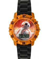 Star Wars SWM3077 Boys BB-8 Flashing Watch with Black Silicone Strap