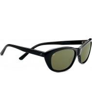 Serengeti Bagheria Black Grey Tortoiseshell Polarized 555nm Sunglasses