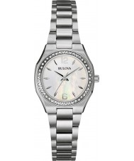 Bulova 96R199 Ladies Diamond Silver Steel Bracelet Watch