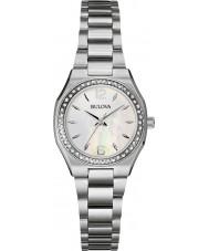 Bulova 96R199 Ladies Diamond Silver Steel Bracelet Watch