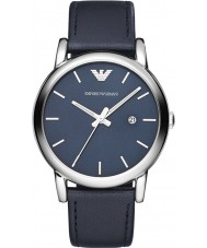 Emporio Armani AR1731 Mens Classic Blue Leather Strap Watch