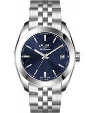 Rotary GB90110-05 Mens Les Originales Lausanne Silver Steel Bracelet Watch