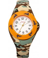 Joules JS019 Boys Pop Out Watch with Printed and Plain Interchangeable Straps