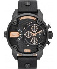 Diesel DZ7291 Mens Little Daddy Black Chronograph Watch