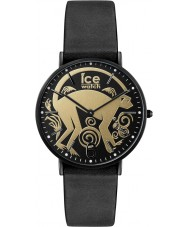 Ice-Watch CHL.CNY.GD.36.L.16 Ice-Chinese Black Leather Strap Watch