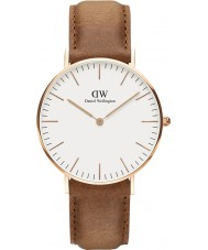 Daniel Wellington DW00100111 Classic 36mm Durham Rose Gold Watch