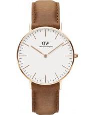 Daniel Wellington DW00100111 Classic 36mm Durham Rose Gold Watch