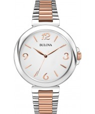 Bulova 98L195 Ladies Dress Two Tone Steel Bracelet Watch