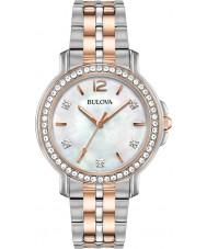 Bulova 98L242 Ladies Crystal Watch