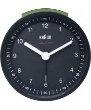Braun BNC007BKBK-MSF Radio Controlled Alarm Clock - Black