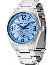 Police 13894JS-04M Mens Atlanta Silver Steel Bracelet Watch