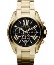 Michael Kors MK5739 Ladies Bradshaw Gold Tone Chronograph Watch