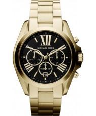 Michael Kors MK5739 Ladies Bradshaw Gold Tone Chronograph Watch