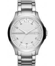 Armani Exchange AX2177 Mens Silver Steel Bracelet Dress Watch