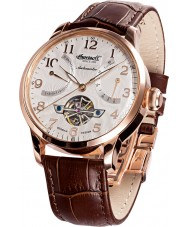 Ingersoll IN6910RSL Mens Massa Brown Leather Strap Watch