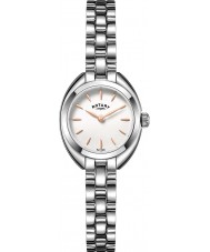 Rotary LB05013-02 Ladies Timepieces Petite Silver Tone Steel Watch