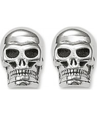 Thomas Sabo H1731-001-12 Silver Skull Stud Earrings