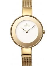 Obaku V167LXGIMG Ladies Gold Plated Mesh Bracelet Watch