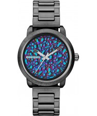 Diesel DZ5428 Ladies Flare Rainbow Gunmetal IP Watch