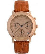 Krug-Baumen 150575DL Principle Diamond Ladies Rose Gold Chronograph Watch