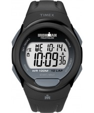 Timex T5K608 Black Ironman Traditional 10 Lap Full Size Sport Watch