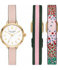Kate Spade New York KSW1663SET Ladies Greene Watch and Straps Gift Set
