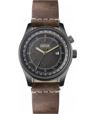 Barbour BB038SLTN Mens Boldon Brown Leather Strap Watch