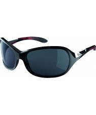 Bolle Grace Shiny Black Coral Polarized TNS Sunglasses