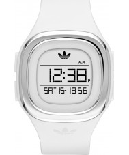 Adidas ADH3032 Mens Denver White Silicone Strap Watch
