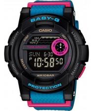 Casio BGD-180-2ER Ladies Baby-G G-Lide Black Blue Watch