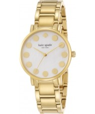 Kate Spade New York 1YRU0737 Ladies Gramercy Dot Gold Plated Bracelet Watch