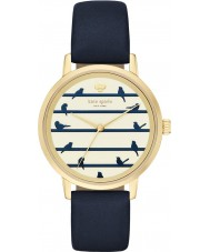 Kate Spade New York KSW1022 Ladies Metro Navy Leather Strap Watch