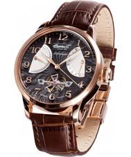 Ingersoll IN6910RBK Mens Massa Brown Leather Strap Watch
