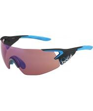 Bolle 5th Element Pro Matt Carbon Blue Rose-Blue Sunglasses
