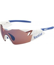 Bolle 6th Sense Shiny White Rose Blue Sunglasses