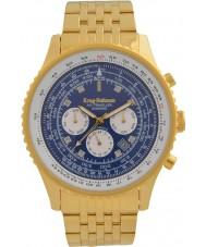 Krug-Baumen 600114DSA Mens Air Traveller Diamond Automatic Watch