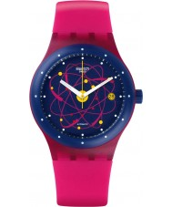 Swatch SUTR401 Sistem51 - Sistem Pink Automatic Watch
