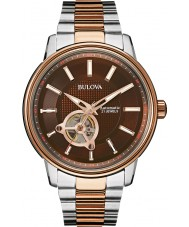 Bulova 98A140 Mens Two Tone Rose Automatic Watch