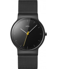 Braun BN0211BKMHG Mens Classic Slim Black Steel Bracelet Watch