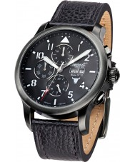 Ingersoll IN1221GUBK Mens Bison No.72 Black Chronograph Watch