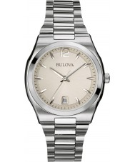 Bulova 96M126 Ladies Dress Silver Steel Bracelet Watch