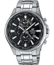 Casio EFR-304D-1AVUEF Mens Edifice World Time Silver Steel Watch
