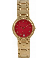 Krug Baümen 5119KM Mens Charleston Red Gold Watch