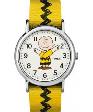 Timex TW2R41100 Peanuts Weekender Watch